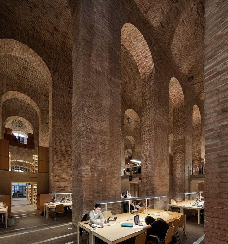 Biblioteca de les Aigues UPF, Barcelona, 1999 - Lluís Clotet Ballús, Ignacio Paricio Ansuátegui