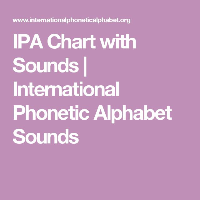 I. Foundations of Linguistics B. Is familiar with IPA; Study Resource: IPA Chart with Sounds | International Phonetic Alphabet Sounds