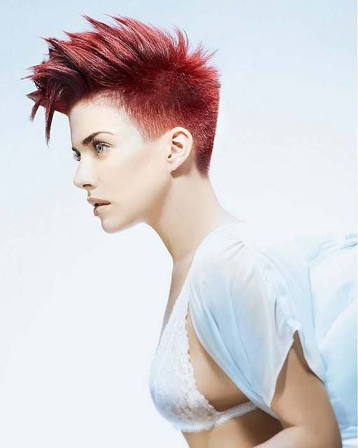816 best Mohawk for the Woman images on Pinterest