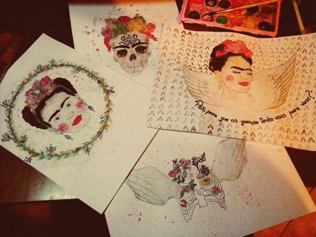 •so-Frida mas não me Kahlo●
