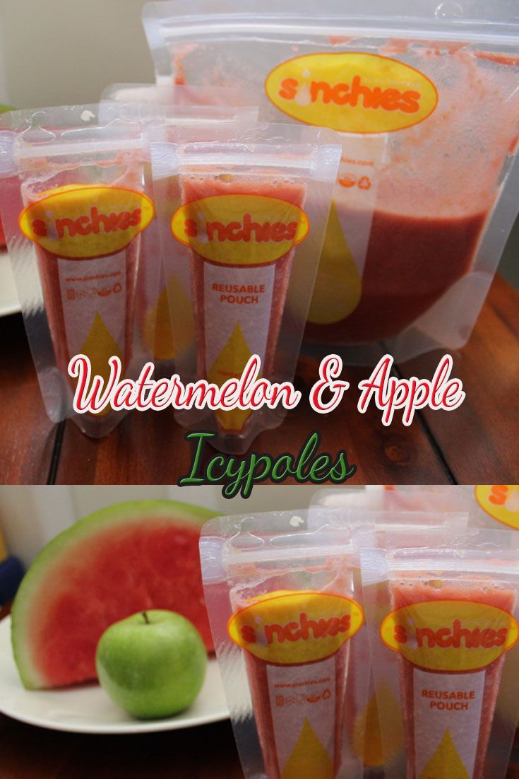 This flavour is so refreshing, its just beautiful and one of our favs!  The apple gives it a lovely sweet flavour and the watermelon is so refreshing.  But you know what's best – it's artificial food colour free!