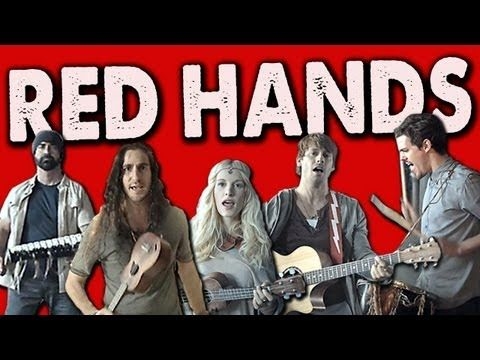 Fell in love with this band with their rad Gotye cover where they all played one guitar. This song is probably one of the best indie pop ones I've heard all year. It's amazing!     RED HANDS - Walk off the Earth