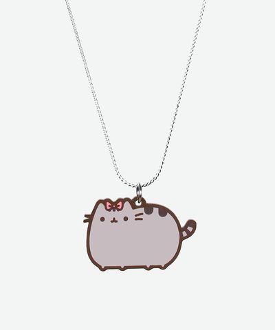 Pretty Pusheen necklace - Hey Chickadee