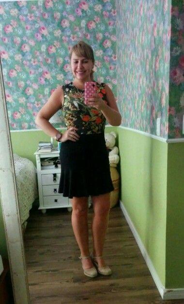 Vestido floral blusê Sommer espadrillhes