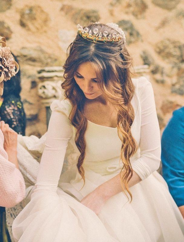 Ondas con caída natural ¡Sencillez y naturalidad para novias! · Bajobé Makeup Studio {Foto, Bossanova Weddings} #hairstyle #weddinghair #tendenciasdebodas