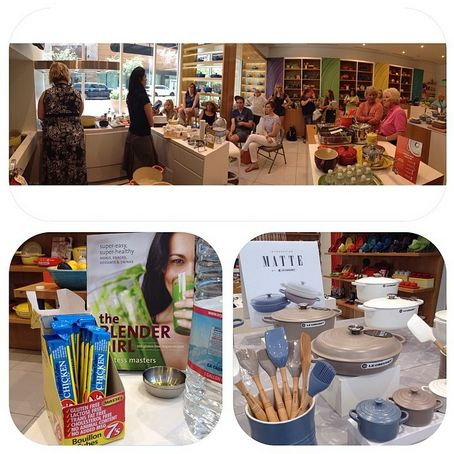 Massel 7s, spotted at Le Creuset in North Scottsdale, at a cookbook demo by the amazing Tess Masters.