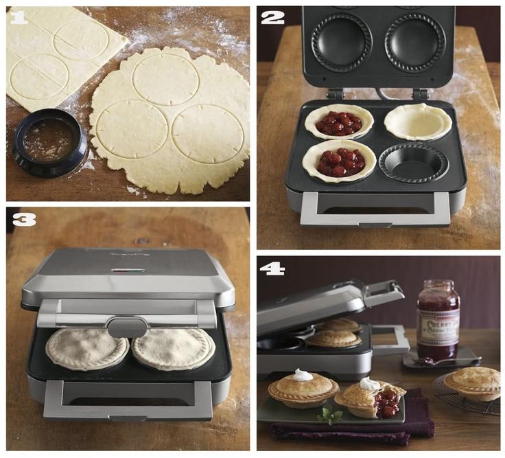 11 best images about pie maker on pinterest fruit pie for Best mini pie maker