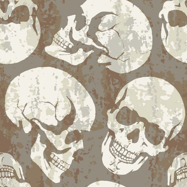 free vector Skull theme vector background graphic available for free download at 4vector.com. Check out our collection of more than 180k free vector graphics for your designs. #design #freebies #vector