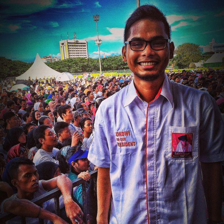 Host sahabat rakyat  Jokowi for our President