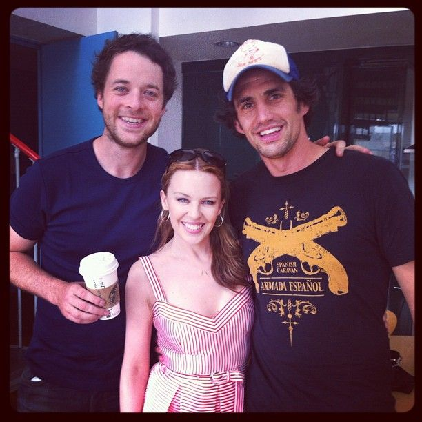 Hamish and Andy and Kylie