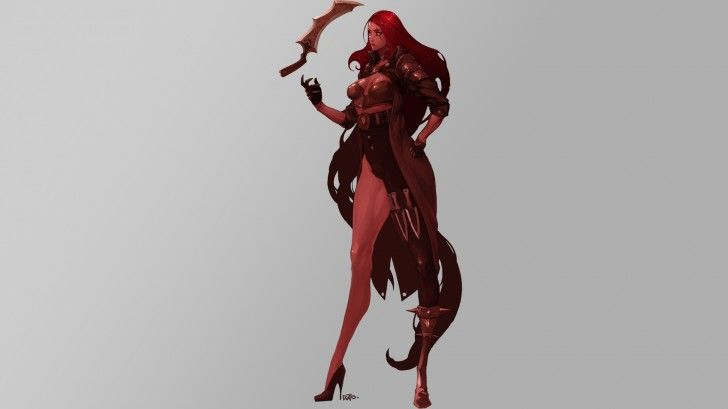 Katarina League of Legends 4n