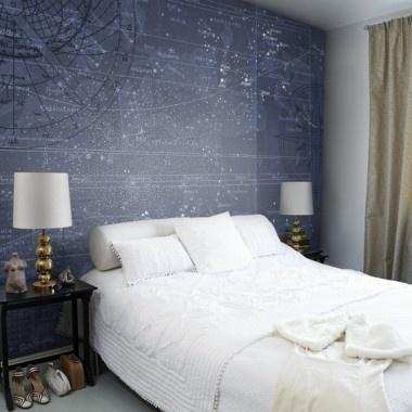 Star map wallpaper
