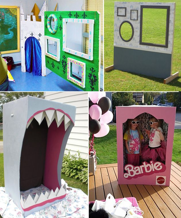 kids party photo booth ideas - Google Search                                                                                                                                                                                 More