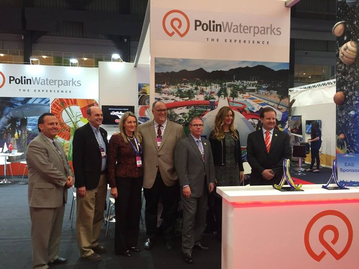 @polinwaterparks with the IAAPA Board at their booth at #EAS15
