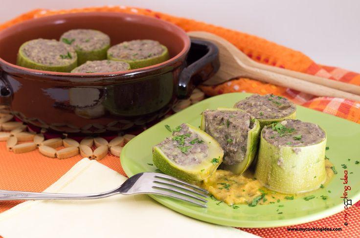 My Cooking Idea. Ricette di cucina vegetariana, vegana, dolci e dessert.: Zucchine ripiene vegane