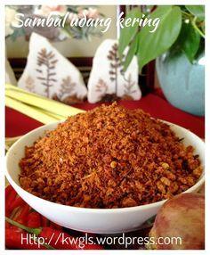 Sambal Udang Kering–Dry Shrimps Spiced Condiments (辣椒虾米松)    #guaishushu #kenneth_goh  # 辣椒虾米松  #sambal_udang_kering