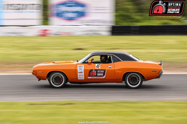 Michael Sorrentino's 1971 Dodge Challenger at #DriveOPTIMA NJMP 2016. Learn more at www.driveOPTIMA.com