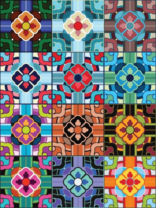 Korean Pattern http://bello_x.blog.me/
