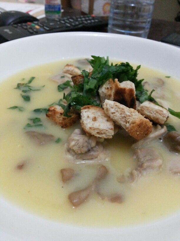 Home made cream soup