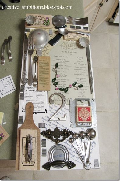CREATIVE AMBITIONS: DIY French Country Cottage Kitchen Art Decor