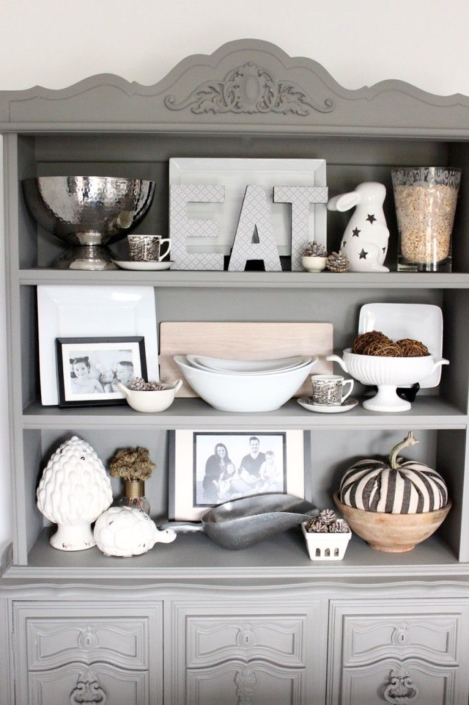 How To Update An Old Hutch {Before U0026 After}. Everyday HutchHutch Welsh Decorating KitchenDining Room ...