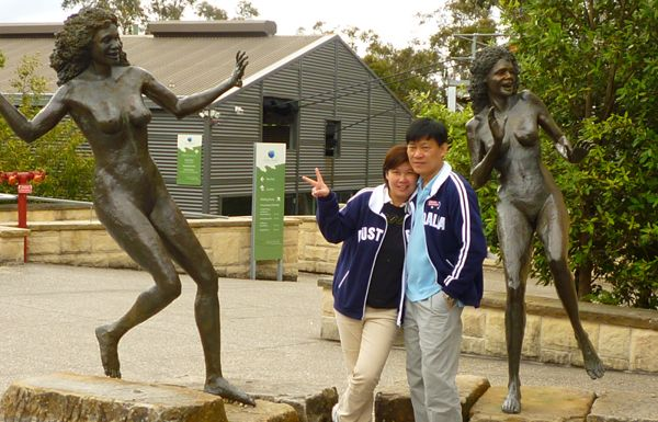Visit Scenic World's sculpture of the 3 Sisters on Tours from Sydney to the Blue Mountains http://toursfromsydney.com/
