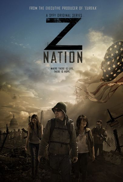 Z Nation New Zombie Series to hold me over until The Walking Dead returns next month.