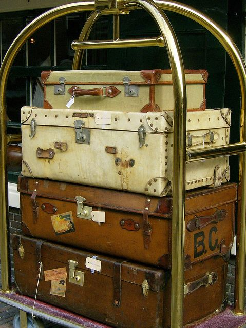 465 best Suitcases Trunks Chests images on Pinterest | Vintage ...