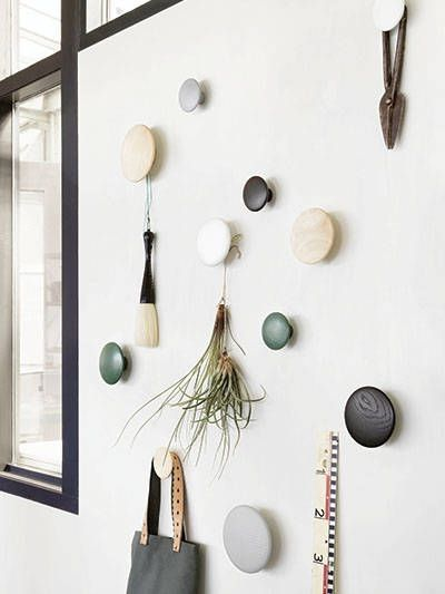 MUUTO - LARGE THE DOTS WALL HOOK - BLACK | #afflink (scheduled via http://www.tailwindapp.com?utm_source=pinterest&utm_medium=twpin)