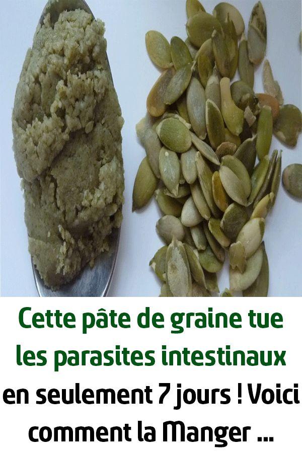 Cette pâte de graine tue les parasites intestinaux en ...