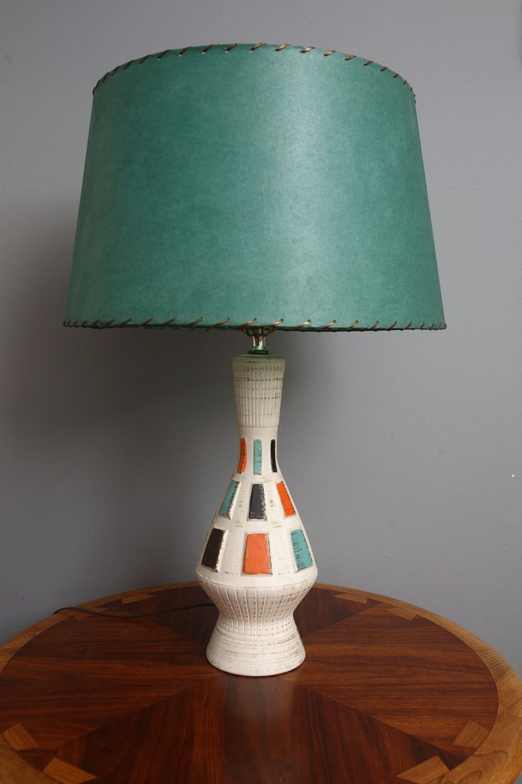 Mid Century Modern Lamp I Like Bedside Lamps Maybe In