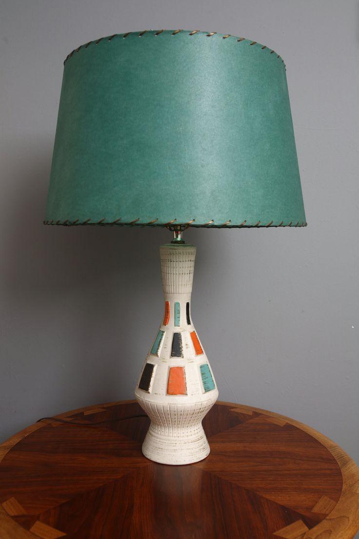 Mid Century Modern Lamp...OMG