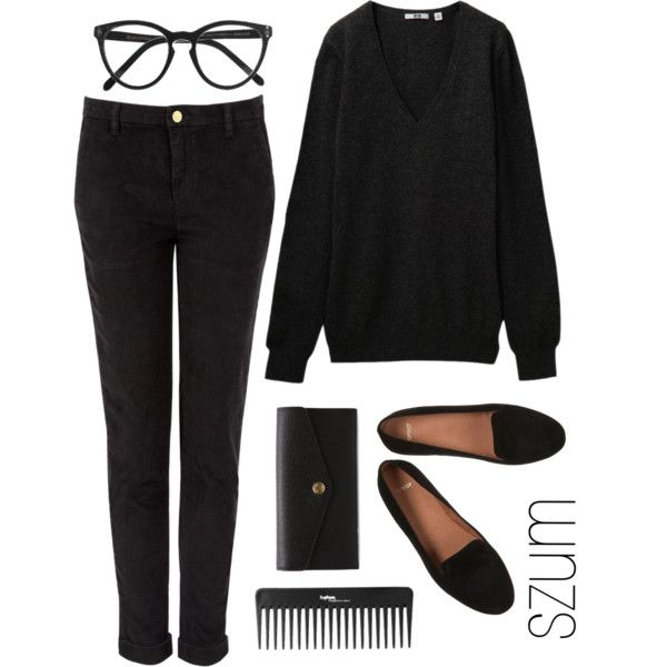 9 by szum on Polyvore featuring moda, Uniqlo, MiH, Michael Kors, Selima Optique and Sephora Collection