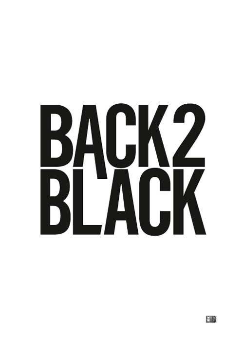 Back To Black Poster