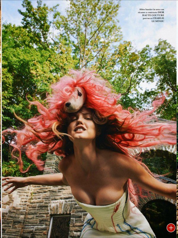 Lindsey Wixson by Ryan McGinley.