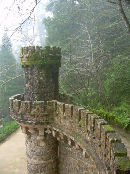 Battlement in Scotland....if those stones could talk, what LOST tales would they tell?