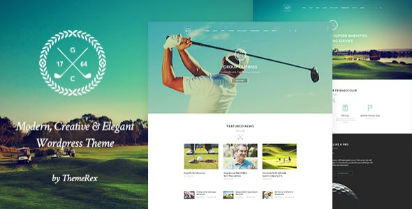 Want to build a #Golf #Website? Here are the ten best #golf #themes for #WordPress. These themes will provide you with all the features which you will require for building your own golf website.