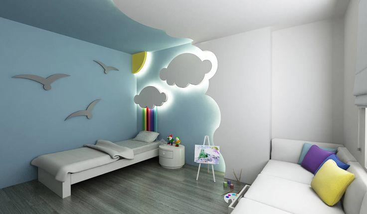 E.K. EVİ : Modern Çocuk Odası Niyazi Özçakar İç Mimarlık #cocukodasi #gencodasi #interior #icmimar #dekorasyon