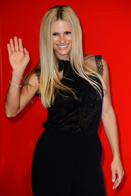 Michelle Hunziker FrancaChaos and Creation Premiere In Venice Film Festival