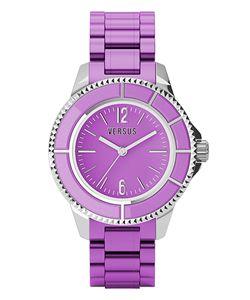 Versus Versus: Womens Tokyo Purple Watch