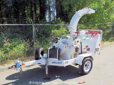 "2012 Altec Environmental Products DC610 6"" Towable Wood Chipper Honda bidadooapply now www.bncfin.com/apply"
