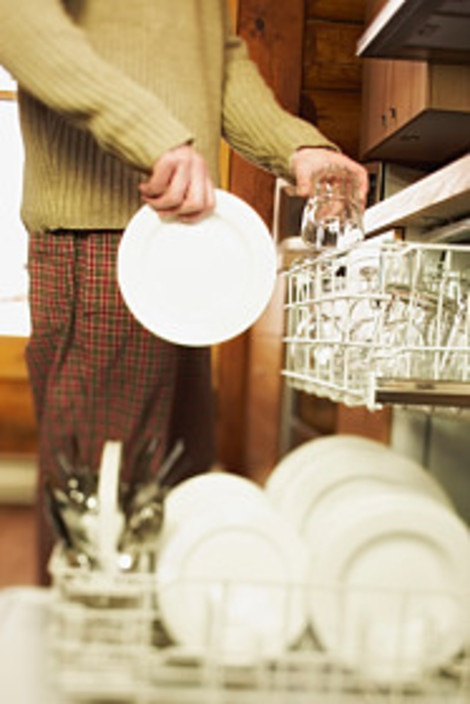 """I particularly like """"don't pre-rinse"""" and """"do us the dishwasher."""""""