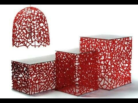 Pin 3: This objects are made by durat-recycled plastic. It's a good material because it's environment friendly and also is resistant to water and have a variety of colors and patterns.