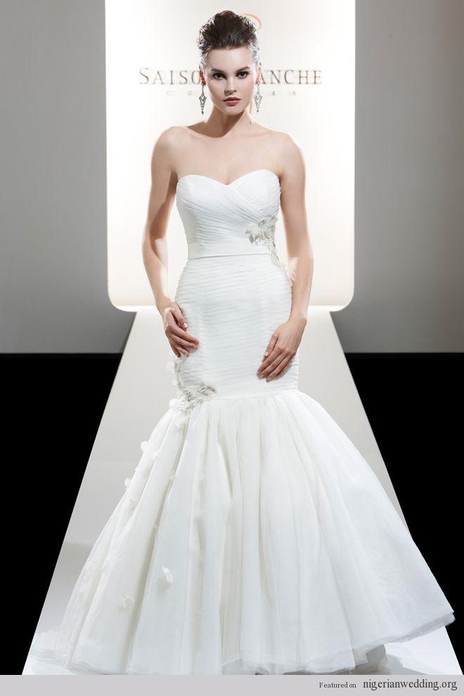 Nigerian Wedding Gowns: Saison Blanche Spring 2012 Bridal Collection |