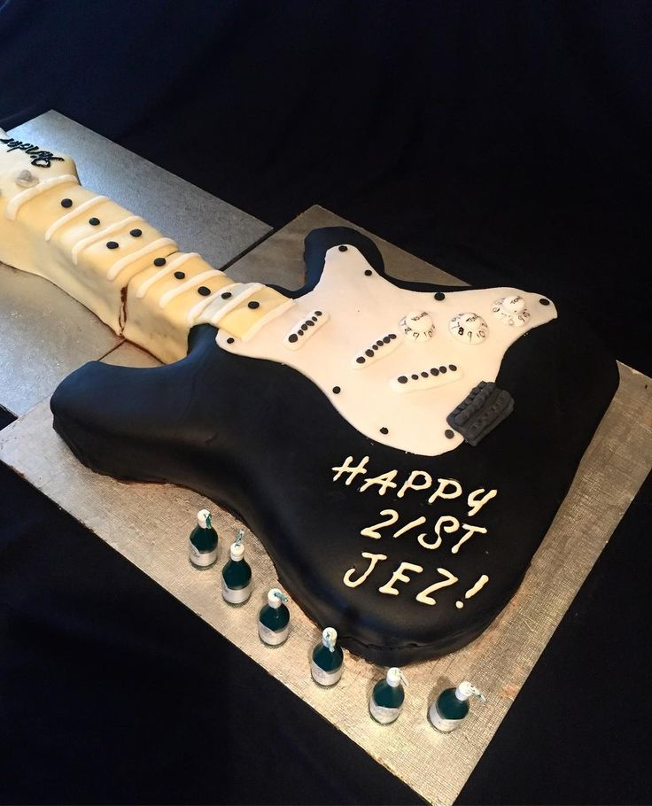 Electric Guitar 21st Birthday Cale