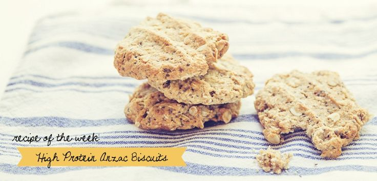 Healthy anzac cookies! (wheat free, DF, refined sugar free and high protein)