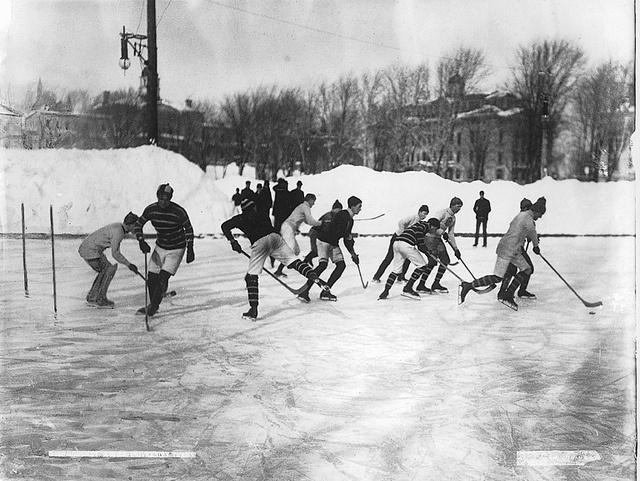 Hockey, McGill University teams, Montreal, QC, 1902 by Musée McCord Museum, via Flickr