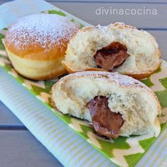Berlinesas con thermomix
