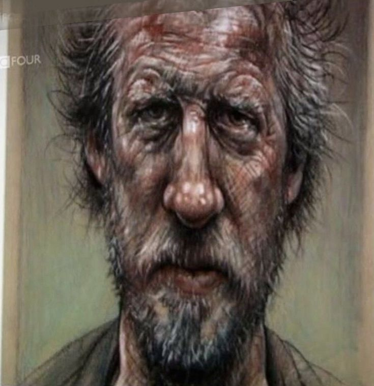 peter howson self portraits - Google Search