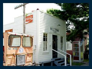 Milton Town Cafe in Sheridan primiarily served JL Williams lumber employees from 1927-1960s